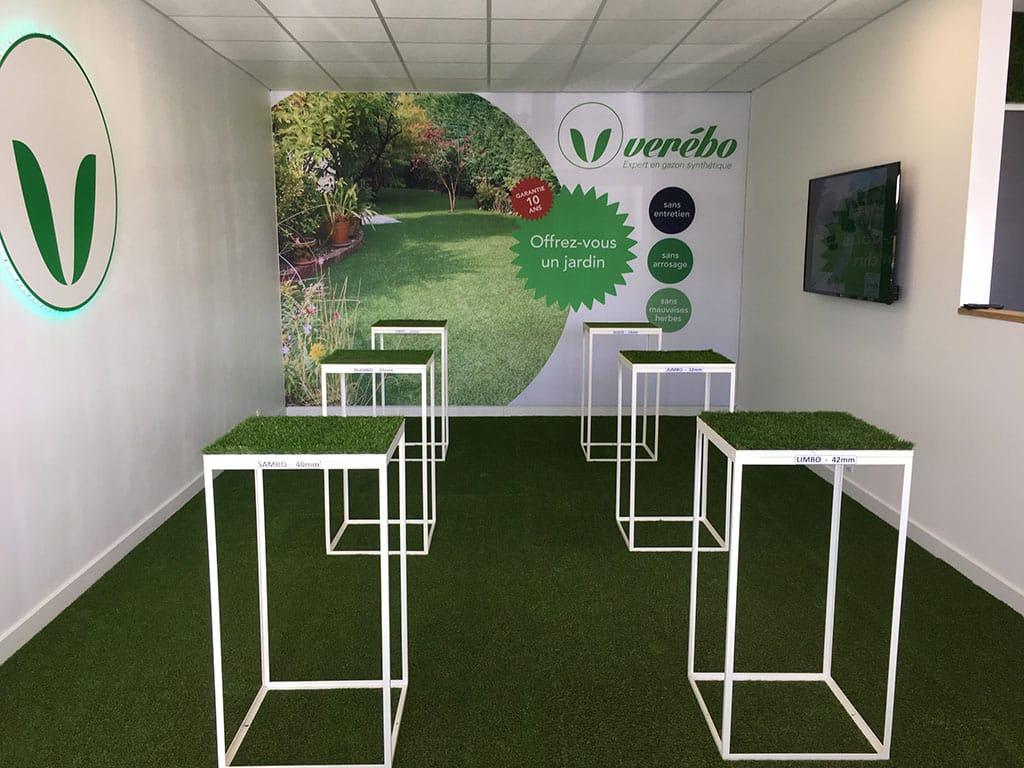 nouveau magasin de gazon synthétique à Artigues près Bordeaux